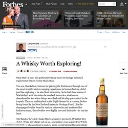 A Whisky Worth Exploring!
