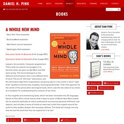 a whole new mind summary pdf