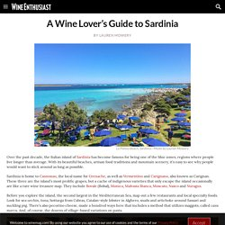 A Wine Lover's Guide to Sardinia