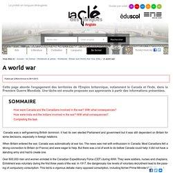 A world war