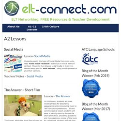 A2 Lessons