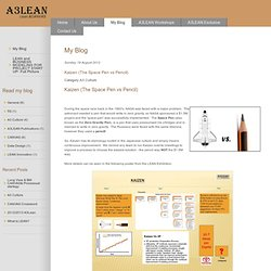 Lean & Canvas - My Blog