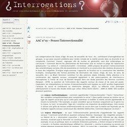 AAC n°19 – Penser l'intersectionnalité