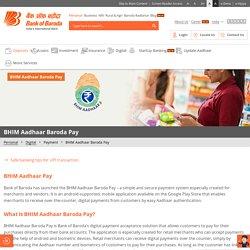 BHIM Aadhaar: Make Secure Payments BHIM Aadhar Pay App