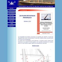 Plans des bateaux provençaux
