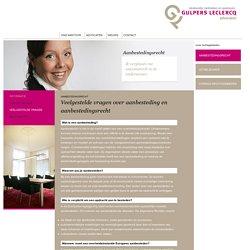 Veelgestelde vragen over aanbesteding en aanbestedingsrecht