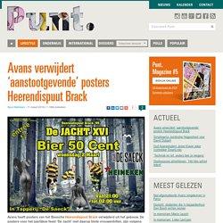 Avans verwijdert 'aanstootgevende' posters Heerendispuut Brack