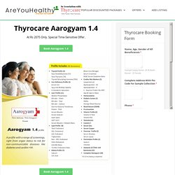AAROGYAM 1.4 With 96 Test Parameters
