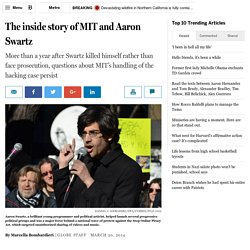 Aaron Swartz and MIT: The inside story