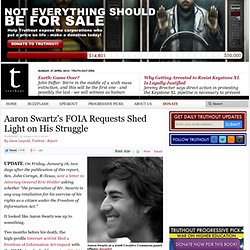 Cyberactivist Aaron Swartz's Legacy of Open Government Efforts Survives