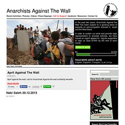 AATW - Anarchists against the wall