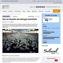GREEN ET VERT 07/01/13 Vers un abandon des élevages industriels