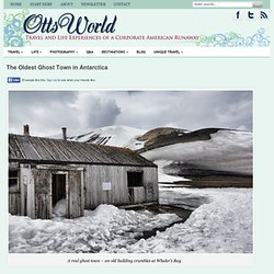 Abandoned Buildings Antarctica Deception Island