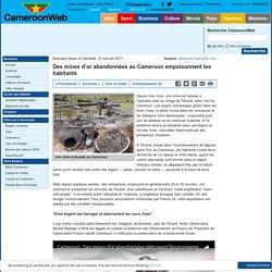 Des mines d'or abandonnées au Cameroun empoisonnent les habitants