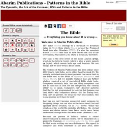 Abarim Publications - Patterns in the Bible
