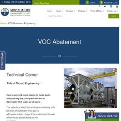VOC Abatement Engineering