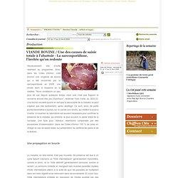 PAYSAN BRETON 17/04/09 VIANDE BOVINE / Une des causes de saisie totale à l'abattoir - La sarcosporidiose, l'invitée qu'on redout