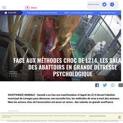 Face aux méthodes choc de L214, les salariés des abattoirs en grande détresse psychologique - LCI