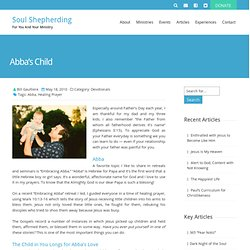 Abba's Child - Soul Shepherding