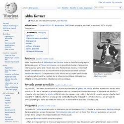 Abba Kovner