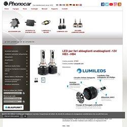 LED per fari abbaglianti anabbaglianti -12V HB3 - HB4, 07505, tithome