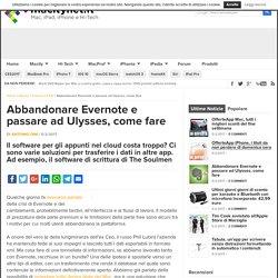 Abbandonare Evernote e passare ad Ulysses, come fare - Macitynet.it