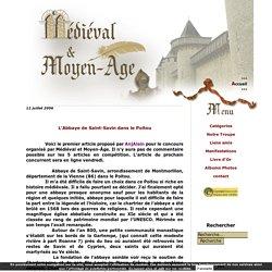 L'Abbaye de Saint-Savin dans le Poitou - Medieval et Moyen Age