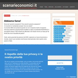 ScenariEconomici.it