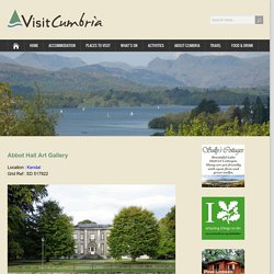 Abbot Hall Art Gallery - Visit Cumbria