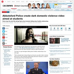Abbotsford Police create dark domestic violence video aimed at students