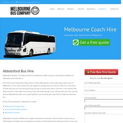 Abbotsford Bus Hire - Melbourne Bus Company
