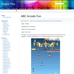 ABC Arcade Fun | Digital Play