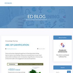 ABC OF GAMIFICATION – ED Blog
