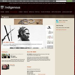 ABC Online Indigenous - Programs