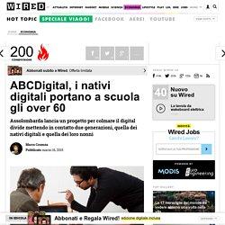 ABCDigital, i nativi digitali portano a scuola gli over 60