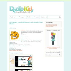 DeclicKids, applis enfants - catalogue critique d'applications iPad iPhone Android Web