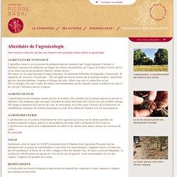 Abcédaire de l'agroécologie - Fondation Pierre Rabhi