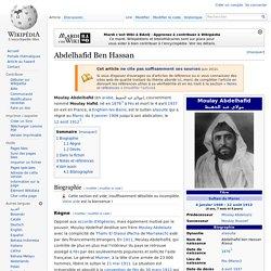 Abdelhafid Ben Hassan alias Moulay Hafid 1876-1937