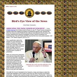 Abdicating the Papa Power of Judgment by Atila Sinke Guimaraes