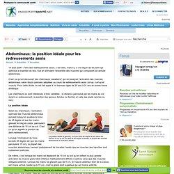 Abdominaux: la position idéale pour les redressements assis