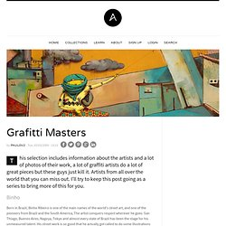 Grafitti Masters | Abduzeedo - design inspiration and tutorials