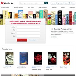 AbeBooks Official Site - New & Used Books, New & Used Textbooks, Rare & Out of Print Books