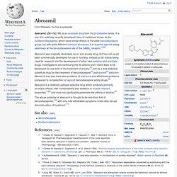 Abecarnil