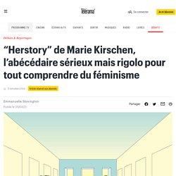 """""""Herstory"""" de Marie Kirschen, l'abécédaire sérieux mais rigolo pour tout comprendre du féminisme"""