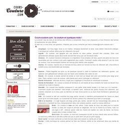 Abécédaire de la couture - Cours-Couture.com