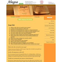 Abegoa Soap - Natural Organic Olive Oil Soap