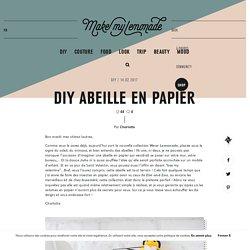 TUTO : Abeille en Papier