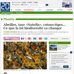 Abeilles, taxe «Nutella», cotons-tiges… Ce que la loi biodiversité va changer