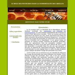 Abeilles & Pesticides - Accueil