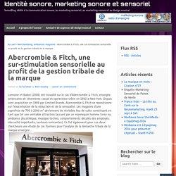 Abercrombie & Fitch, une sur-stimulation sensorielle au profit de la gestion tribale de la marque